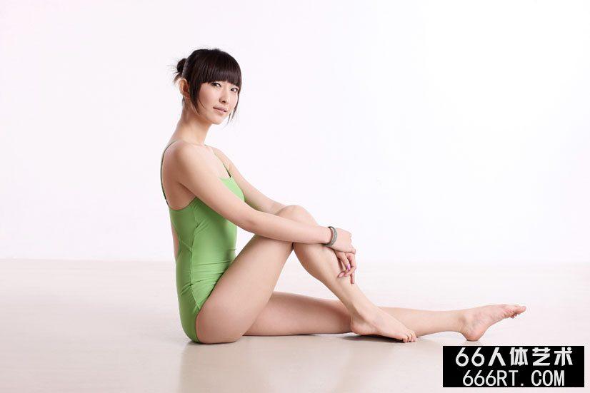 超模晨宇10年3月18日棚拍体操艺术